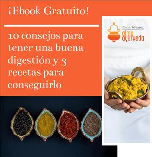 ¡Ebook Gratuito! 10 consejos para una buena digestión y 3 recetas para conseguirlo