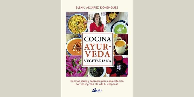 Portada del libro Cocina Ayurveda Vegetariana.