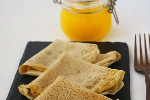 tortitas de trigo sarraceno versión vegana sin gluten